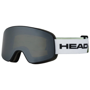 Gogle Head Horizon Race white lime + SpareLens