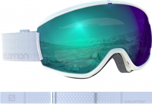 Gogle Salomon IVY PHOTO White All Weather Blue 399049