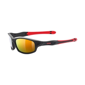 Okulary UVEX Sportstyle 507 Black Mat Red/Mirror Red S3