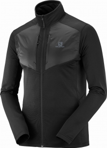 Bluza Salomon Grid FZ Mid M Black