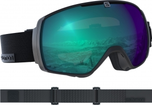 Gogle Salomon XT One PHOTO Black Weather Blue
