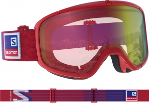 Gogle Salomon Four Seven PHOTO Red AW Red
