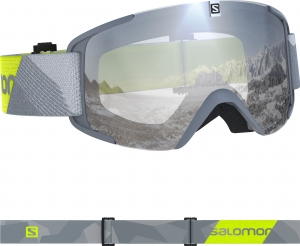 Gogle Salomon Xview Grey Neon Yellow 408446