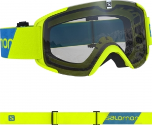 Gogle Salomon Xview Access Neon Yellow 408447