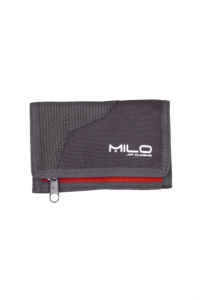 Portfel MILO Wally Grey Deep Red