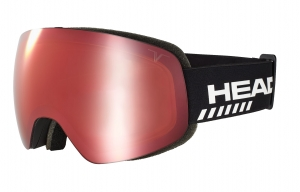Gogle Head Globe TVT Race Red + SpareLens
