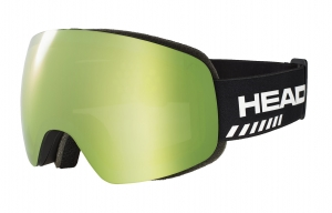 Gogle Head Globe TVT Race Green + SpareLens