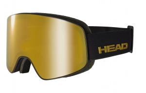 Gogle Head Horizon Premium black + SpareLens 2020