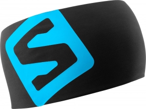 Opaska Salomon RS PRO Headband Black Transcend Blue