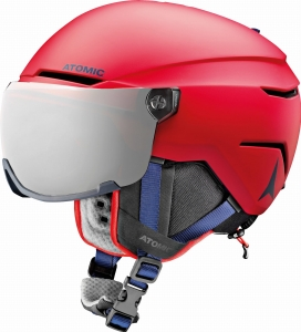 Kask Atomic Savor Visor jr Red 2020