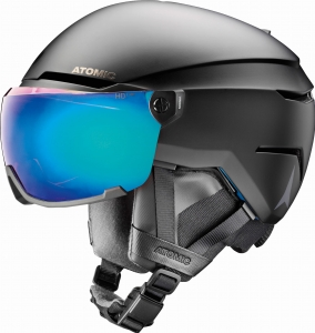 Kask Atomic Savor AMID Visor HD Plus Black 2020 (1)