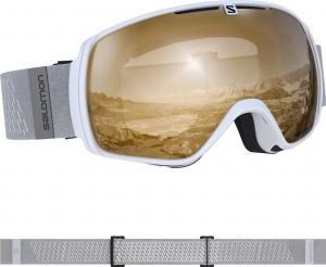 Gogle Salomon XT One Access White 408425