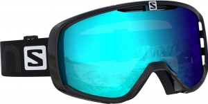 Gogle Salomon XT Black 2020