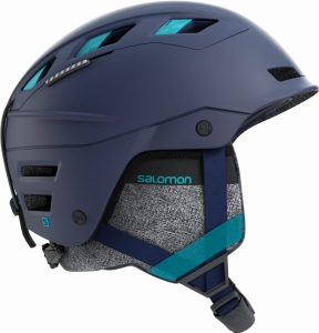 Kask Salomon QST Charge W Whisteria Navy Blue