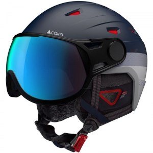 Kask Cairn Shuffle Visor Evolight NXT Tailles Patriot