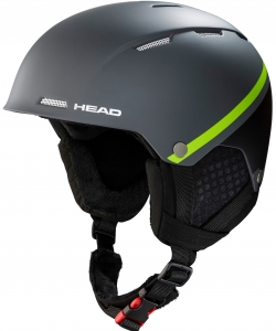 Kask HEAD Tucker Boa Anthracite Lime 2020