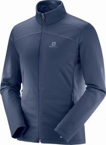 Bluza Salomon Discovery LT FZ M Night Sky 404027