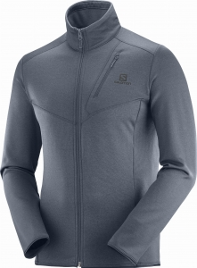 Bluza Salomon Discovery FZ M Ebony/Heather