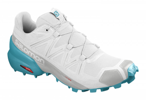Buty Salomon Speedcross 5 W White/ Blue Bird 409687