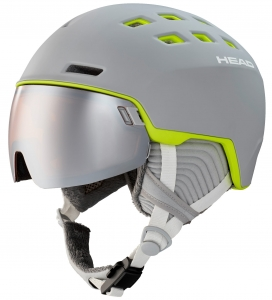 Kask Head Rachel 323520 Grey/Lime 2021