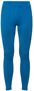 Spodnie tech. męskie Odlo SUW Bottom Pant Performance Warm C/O Blue