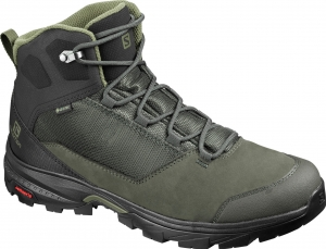 Buty Salomon OUTward GTX Peat/Black Burnt Olive 409579
