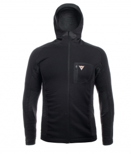 DAINESE Awa Mid Hooded Full Zip Man Stretch Limo