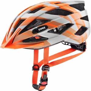 Kask Rowerowy UVEX Air Wing CC Grey Orange