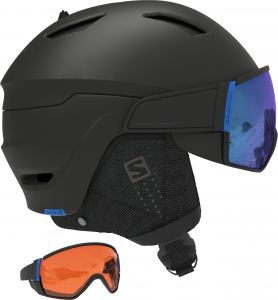 Kask Salomon Driver CA Black/Solar Blue