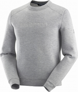 Bluza Salomon SIGHT Crewneck M Medium Grey /Heather