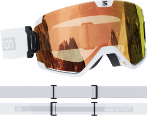 Gogle Salomon Cosmic PHOTOCHROMIC White 411461