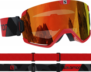 Gogle Salomon Cosmic Red White 411462