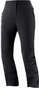 Spodnie Salomon Warm  Ambition Pant W Black