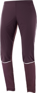 Spodnie Salomon Lighting Lightshell Pant W Winetasting