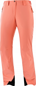 Spodnie Salomon THE Brilliant Pant W Burnt Coral 2021