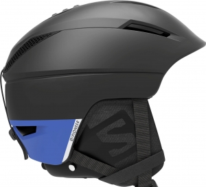 Kask Salomon Pioneer C.Air Black/Race Blue 408389