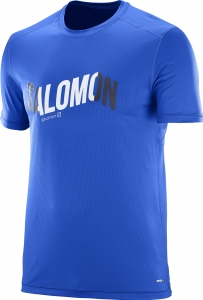 Koszulka Salomon Cosmic Logo SS Tee M Surf The W