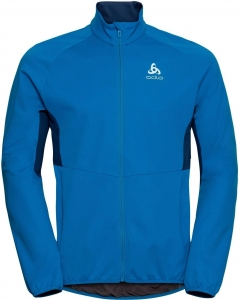 Kurtka Odlo Jacket Aeolus Element Warm Men Blue