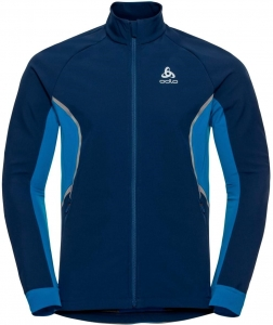 Kurtka Odlo Jacket AEOLUS Men Dark Blue/Blue