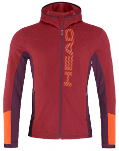 Bluza Head Max Hoody M Red