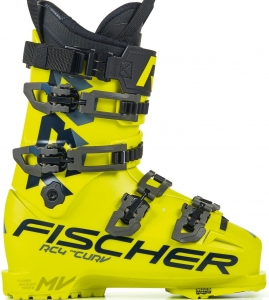 Buty Fischer RC4 THE Curv 130 Vacuum Valk Yellow 2021