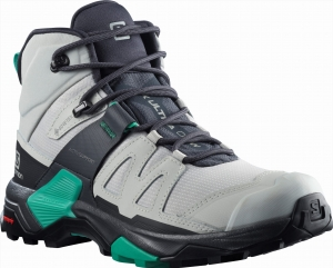 Buty Salomon X Ultra 4 MID GTX W Lunar Rock/Ebony/Mint 413814