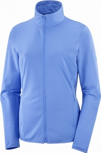 Bluza Salomon OUTRACK FULL ZIP Midlayer W Marina