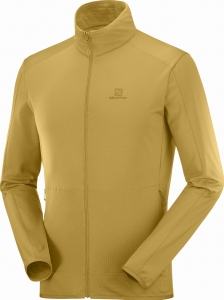 Bluza Salomon OUTRACK FULL ZIP Midlayer M Cumin