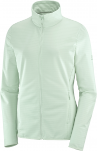 Bluza Salomon OUTRACK FULL ZIP Midlayer W Opal Blue
