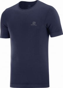 Koszulka Salomon OUTSPEED Seamless Wool TEE Night Sky C14998