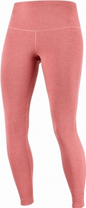 Legginsy Salomon ESSENTIAL Tights W Brick/Heather