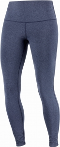 Legginsy Salomon ESSENTIAL Tights W Night Sky/Heather