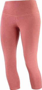 Legginsy Salomon ESSENTIAL 5/6 Tights W Brick/Heather
