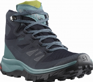Buty Salomon OUTline MID GORE-TEX W Navy Blazer/Hydro 404846
